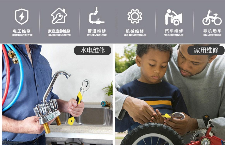 Многофункциональный гаечный ключ Yi Ruize WNBS 6-32мм (131-106) - 6