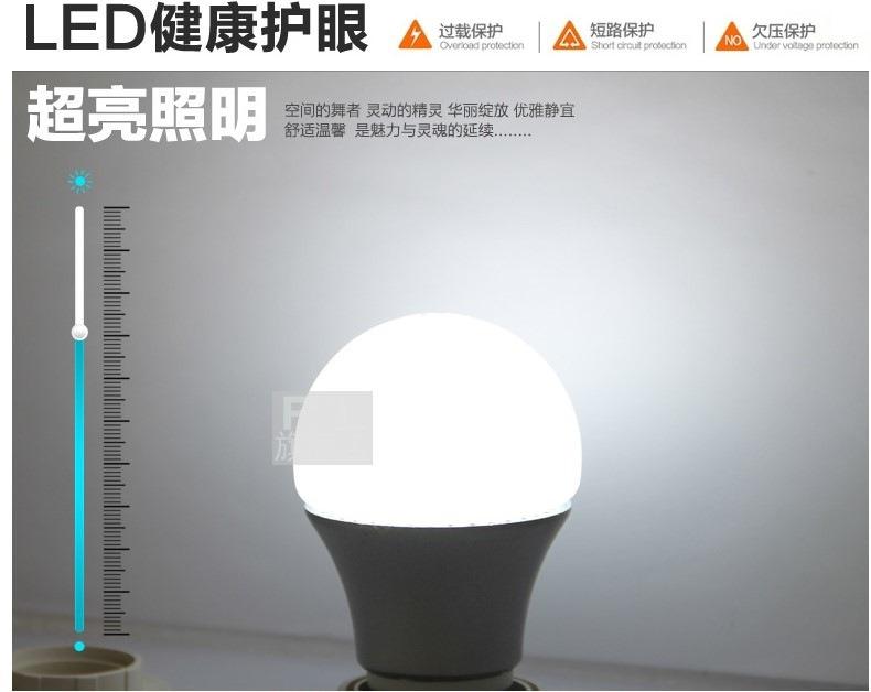 Светодиодные лампы LED-A55-E27 (101-202-2) - 9