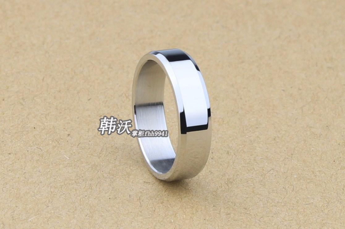 Мужское кольцо из титановой стали (124-111) - 5