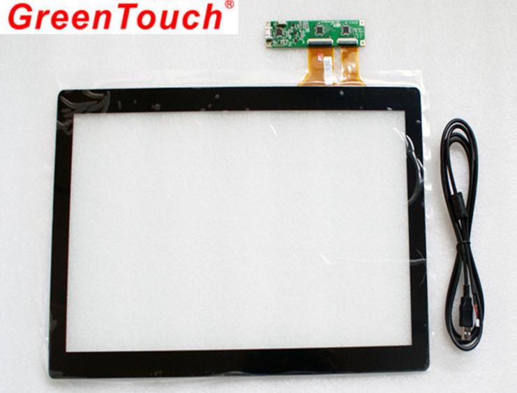 """Сенсорный емкостной экран 19"""" GreenTouch GT-CTP19, мультитач, USB (133-113) - 5"""
