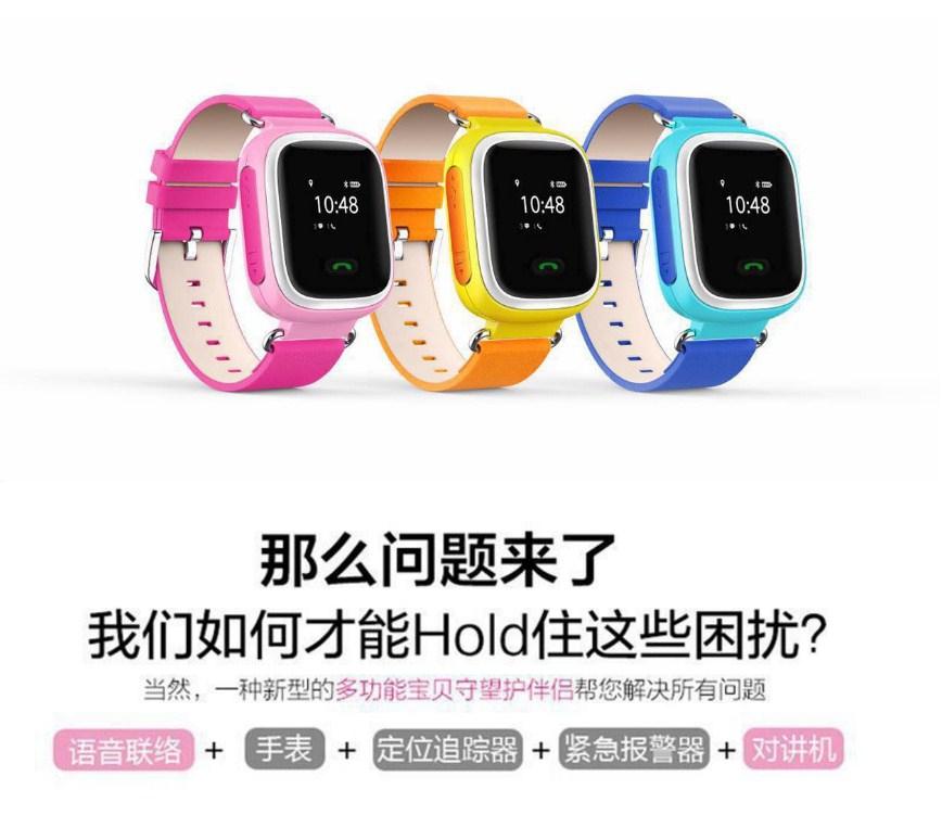 Детские смарт-часы GPS SH-01 (123-104) - 4