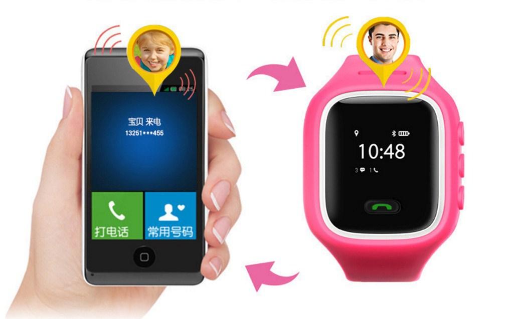 Детские смарт-часы GPS SH-01 (123-104) - 8