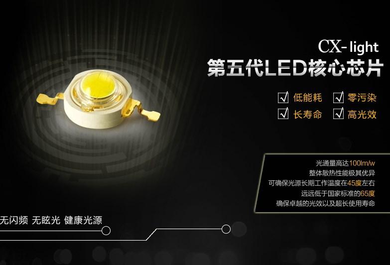 Светодиодный светильник прожектор LED Caixin 42W-196W (115-105) - 3