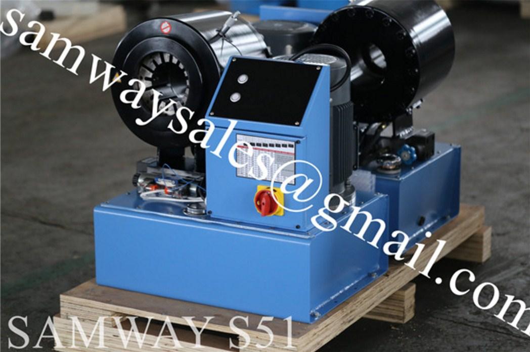 Станок для обжима РВД SAMWAY S51 (108-148) - 1