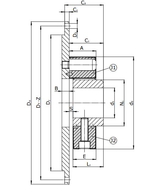 Муфты CENTAFLEX-A TYPE 3 /3–S (118-107) - 7