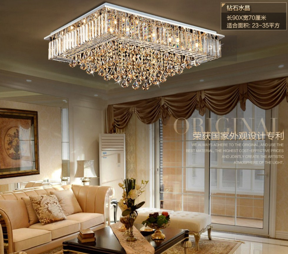 Люстра Plymouth Dili Lighting - Diamond Crystal LED-9083 (101-228) - 2