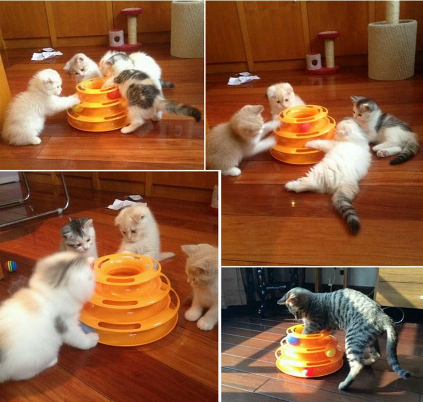 Игрушка для кошек Douges Tower of Tracks (128-108) - 7