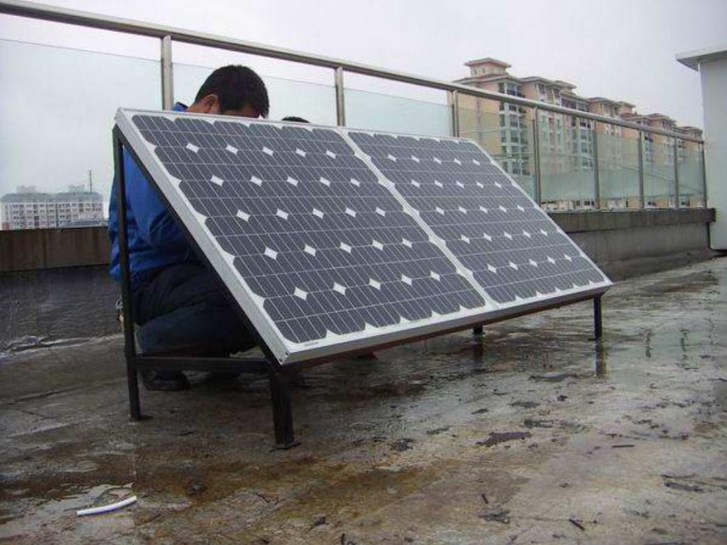 Монокристаллическая солнечная панель 100W (120-100) - 4