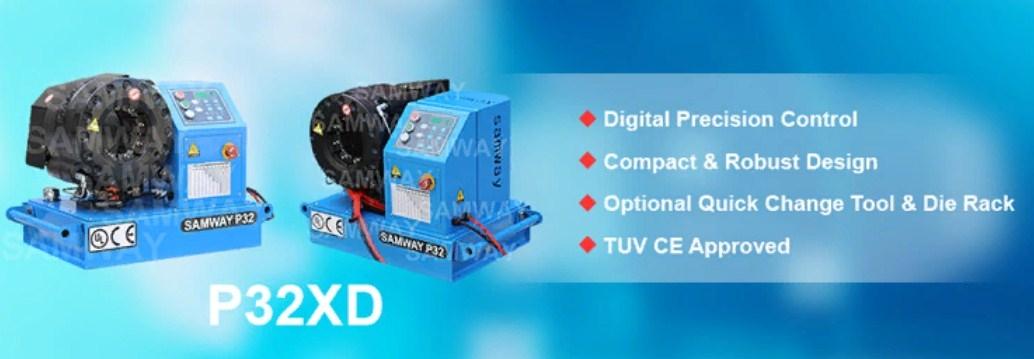 Мобильный станок для обжима РВД SAMWAY P32XD (108-216) - 1