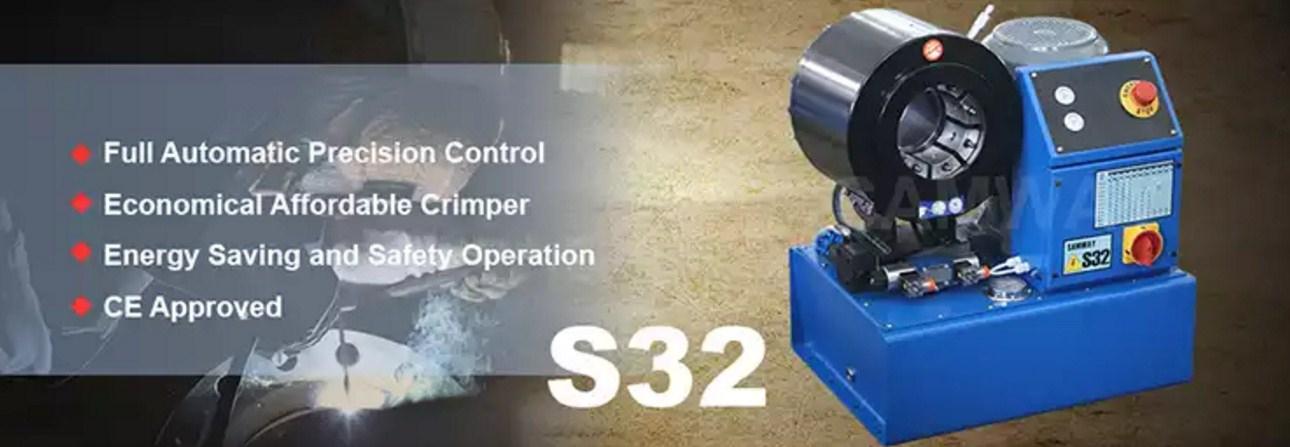Экономичный обжимной станок РВД - SAMWAY S32 (108-178) - 1