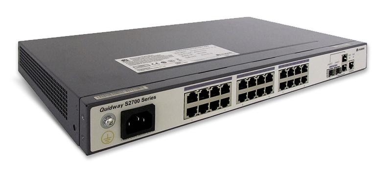 Коммутатор Huawei S2700-26TP-SI-AC (134-110) - 3