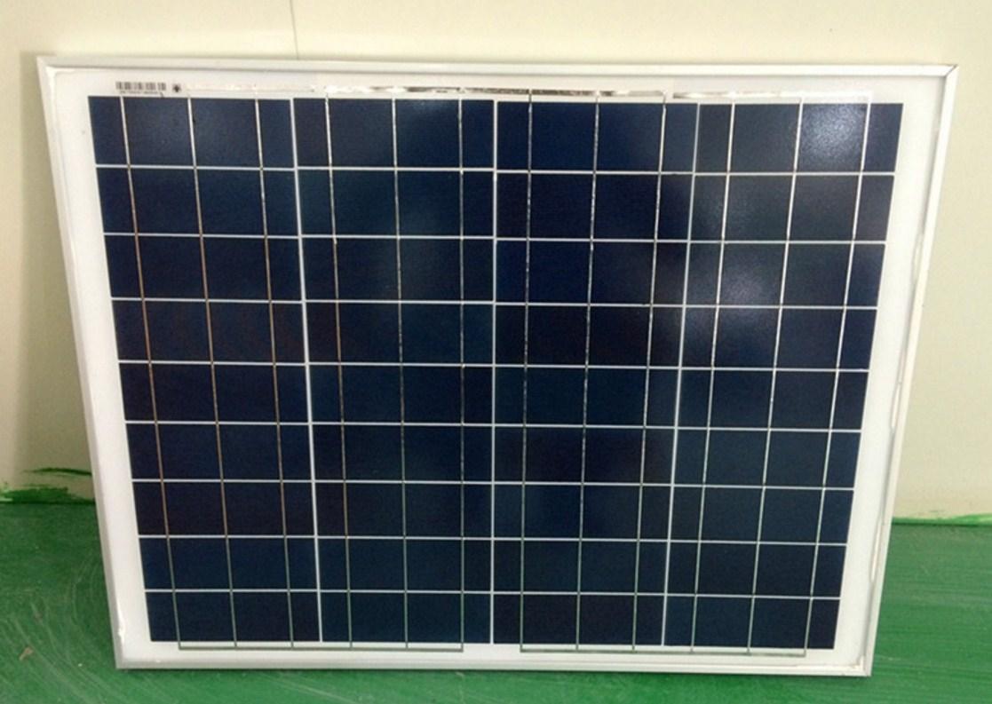 Поликристаллическая панель солнечных батарей 50W/12V (120-103) - 2