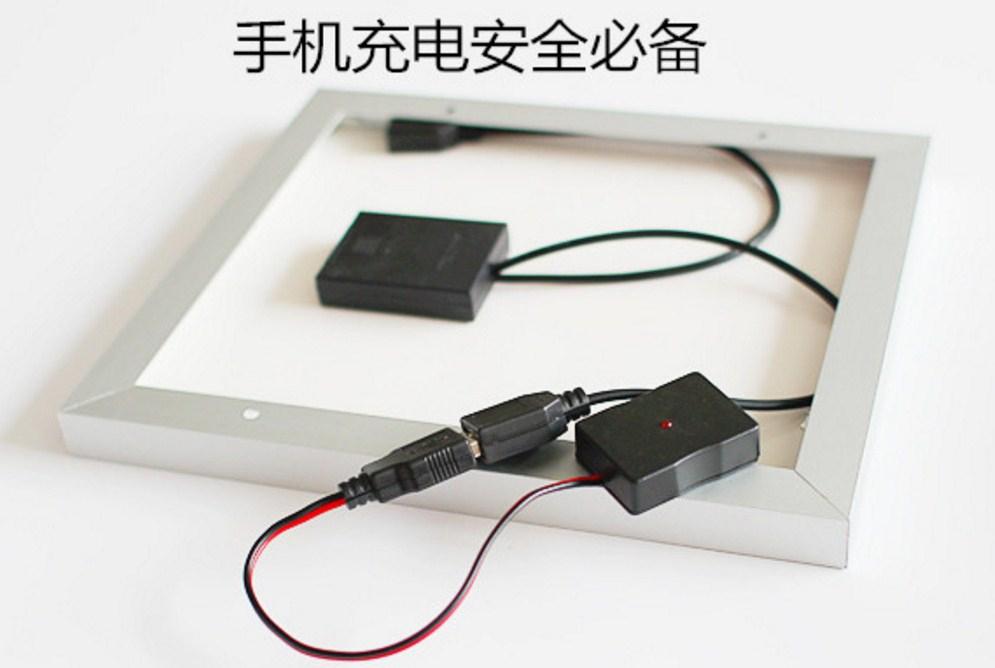 Фотоэлектрическая солнечная панель для зарядки телефонов 4W5V6V (120-107) - 3