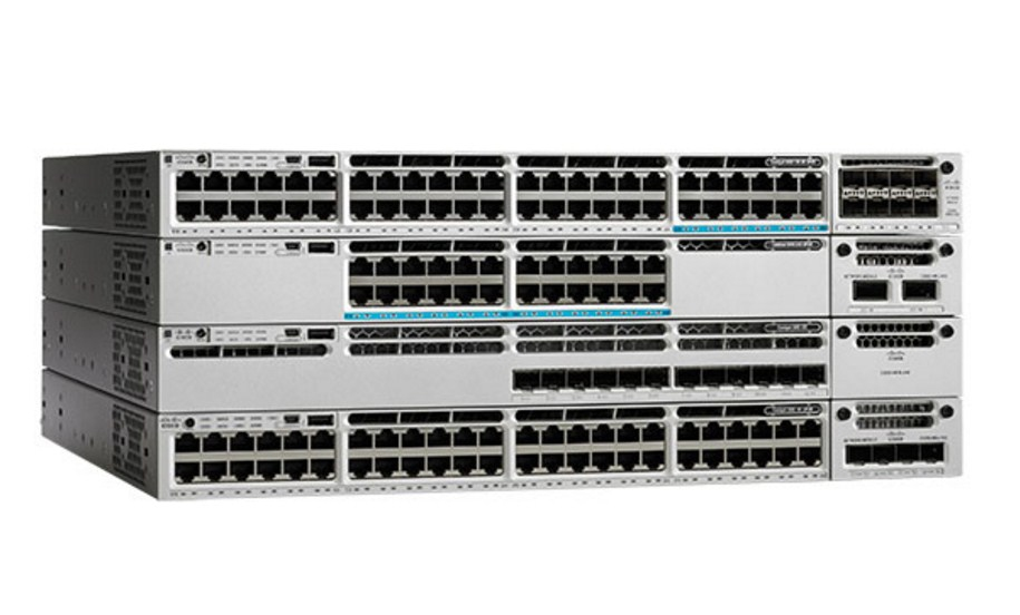 Коммутатор Cisco Catalyst WS-C3850-24T-E (134-108) - 1