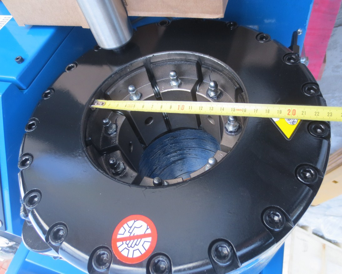 Станок для обжима РВД SAMWAY P32 (108-138) - 3
