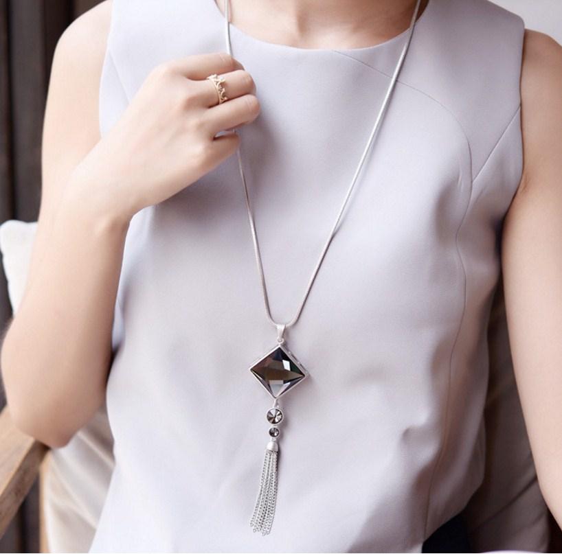 Цепочка с кулоном для женщин (124-104) - 2