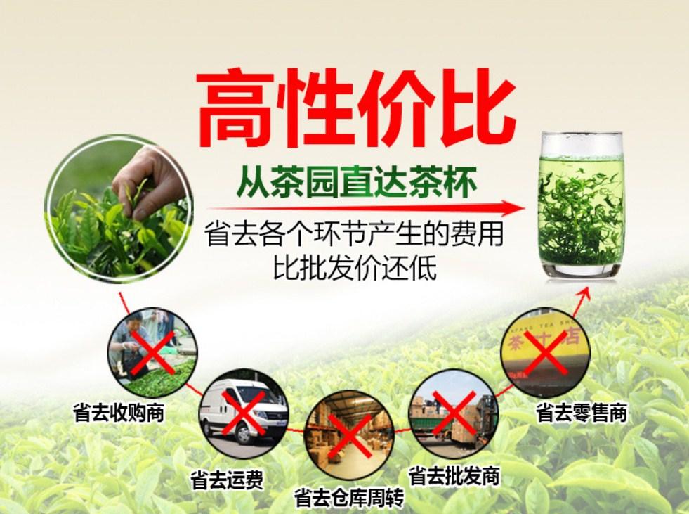 Новый зеленый чай 2016 Qing Cheng Tang (121-102) - 5