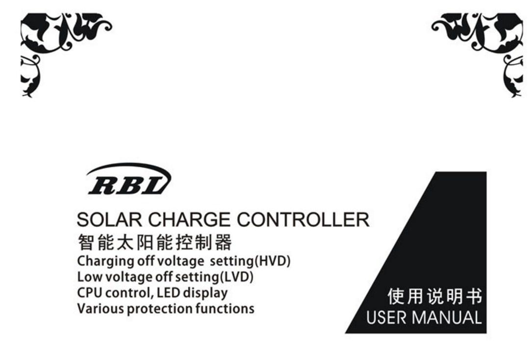 Контроллер для солнечных батарей 20A-12V-24V (120-109) - 7