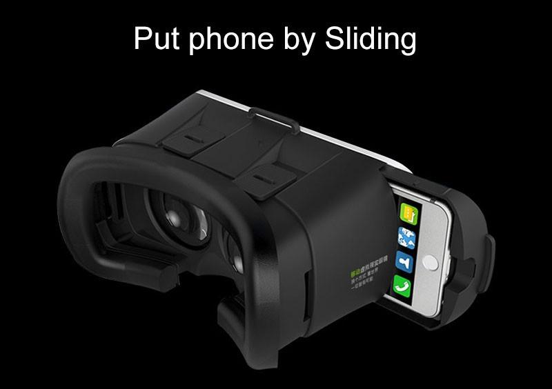 """Очки виртуальной реальности VR Box 3D для 3.5"""" - 6.0"""" с пультом управления (113-100) - 7"""