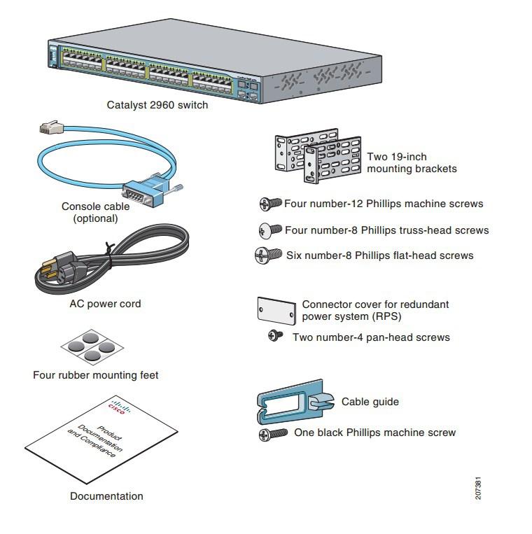 Коммутатор Cisco Catalyst WS-C2960-8TC-L (134-100) - 3