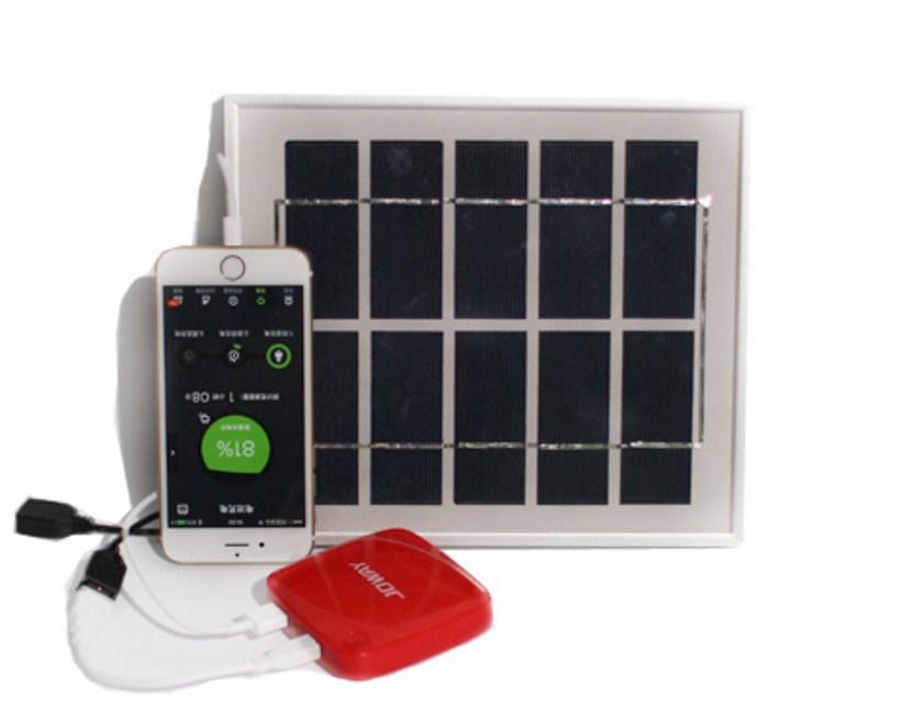 Фотоэлектрическая солнечная панель для зарядки телефонов 4W5V6V (120-107) - 4