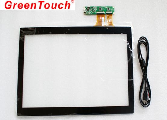 """Сенсорный емкостной экран 10,1"""" GreenTouch GT-CTP10.1, мультитач, USB (133-114) - 3"""
