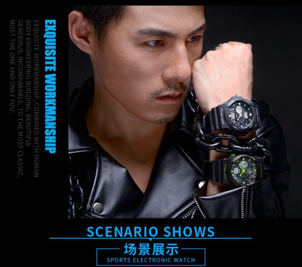 Водонепроницаемые электронные спортивные часы ZGO WATCH A316Z-X (123-108) - 12