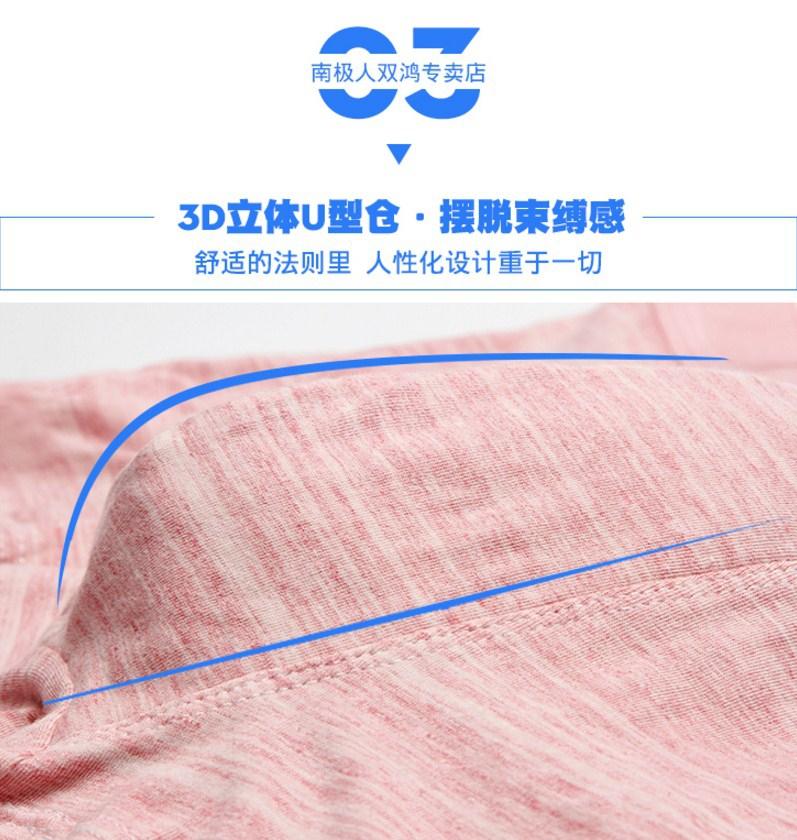 Комплекты мужских трусов 4 в 1 упаковке Nanjiren - NJR51666 (125-101) - 3