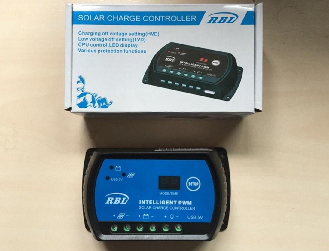 Контроллер для солнечных батарей 20A-12V-24V (120-109) - 4