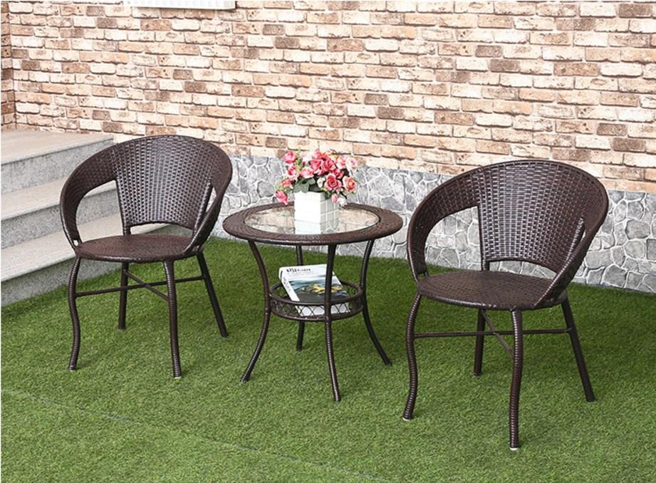 Столик и два кресла из ротанга Sunco (132-101) - 7