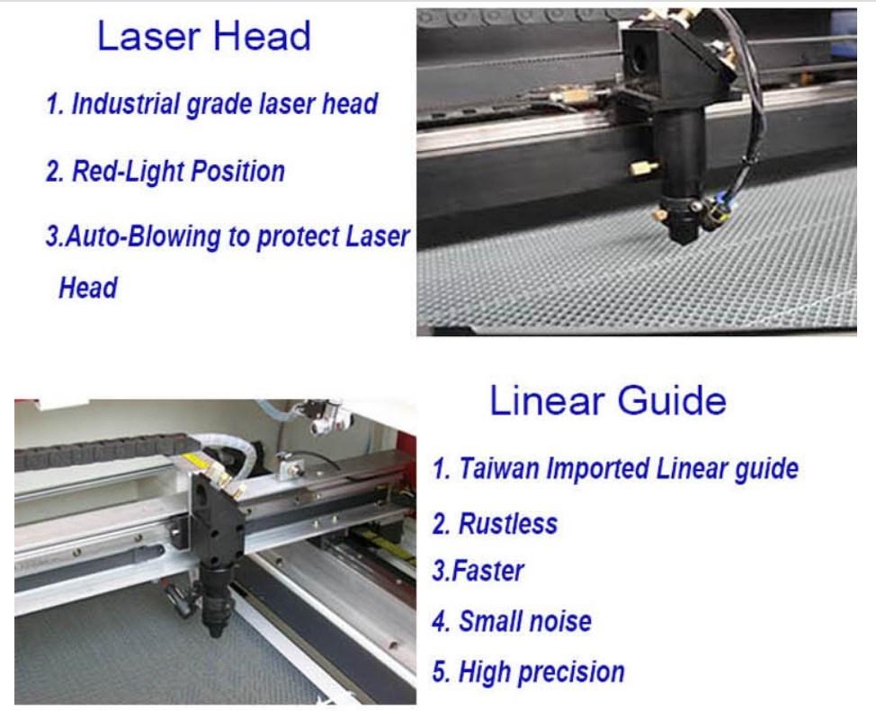 Лазерный гравировальный станок FST XM-1260 (103-135) - 8