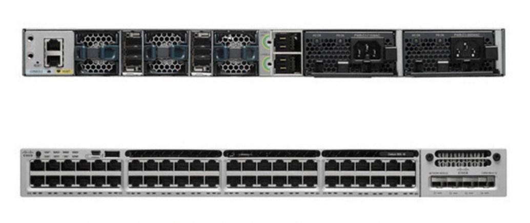 Коммутатор Cisco Catalyst C3850-48T-E (134-200) - 4