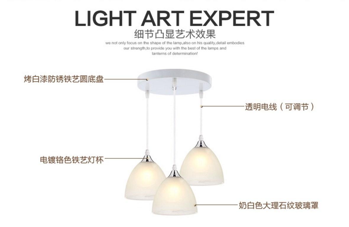 Тройной потолочный светильник Plymouth Dili Lighting LED-5101 (101-249) - 12
