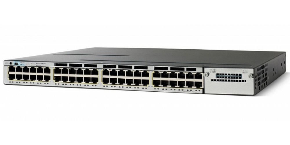 Коммутатор Cisco Catalyst WS-C3750X-48PF-S (134-201) - 29338